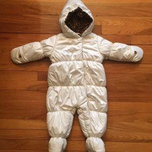 Baby Girl Winter Snowsuit
